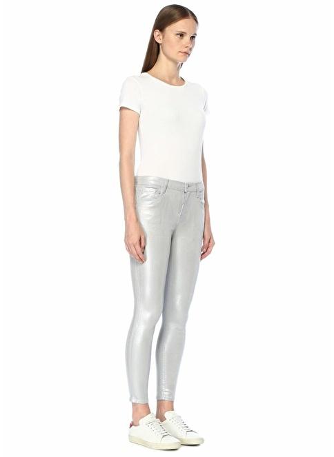 J Brand Jean Pantolon Gümüş